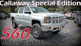 2015 CHEVROLET SILVERADO 1500 ROCKY RIDGE CALLAWAY SPECIAL EDITION