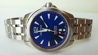 cERTINA DS ACTION CHRONOMETER C032.851.11.047.00. Обзор\Review