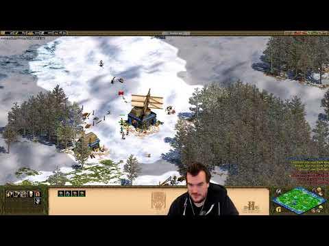 Age of Empires 2 HD: 4 v 4 Scandinavia (Incas)
