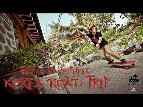 KOREA ROAD TRIP (A LONGBOARD MOVIE)
