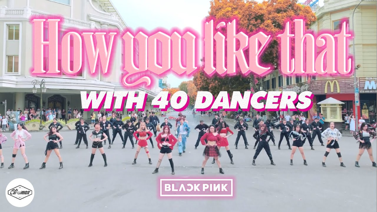"""Download [KPOP IN PUBLIC] BLACKPINK """"How You Like That""""  ONE-TAKE DANCE COVER  Cli-max Crew (with 40 dancers)"""