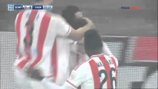 21η Αγ. ΟΛΥΜΠΙΑΚΟΣ - ΠΑΟΚ 1-0