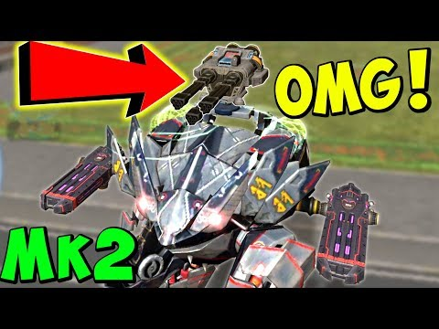 MAX AVENGER FENRIR IS AWESOME! War Robots Mk2 Gameplay WR