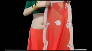 Wear Gujrati Wedding Saree:How To Drape Bridal Sari Step By Step