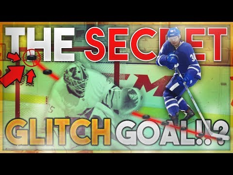 THE SECRET PUCK ON A STRING GLITCH GOAL (NHL 18)