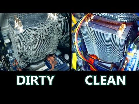 Clean PC vs Dirty PC [Benchmark and Loudness]