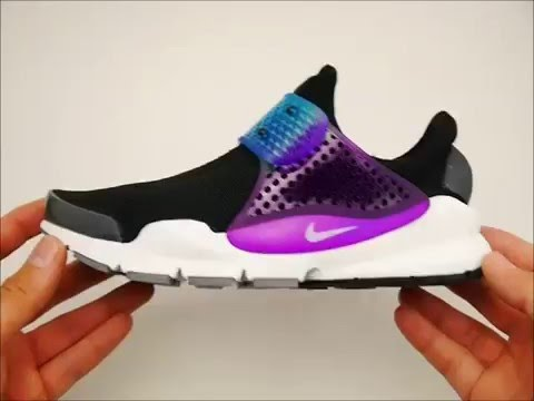 1e70c3fad68a1d ОбзорКроссовки женские Nike Sock Dart Rainbow - YouTube