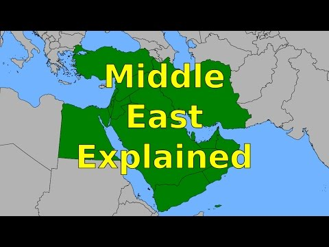 Middle East Explained - The Religions, Languages, and Ethnic Groups People Are Fighting About