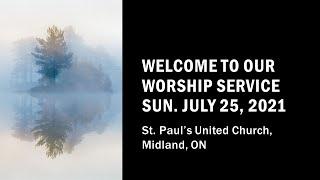 St. Paul's United Church - Midland Ontario Live Stream