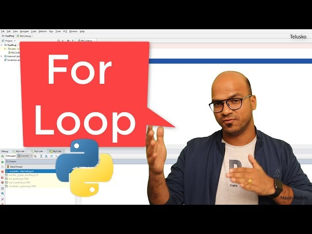 #21 Python Tutorial for Beginners | For Loop in Python