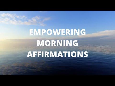Empowering Morning Affirmations (4K)