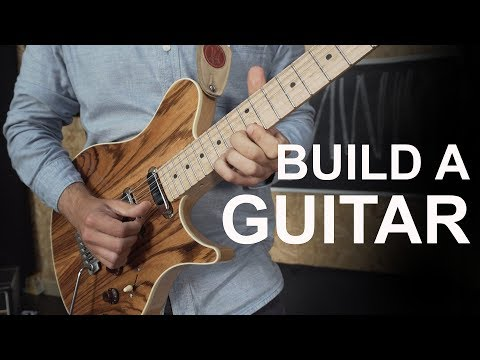 Building a Custom Guitar || Mail with Mike