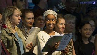 Universiteitskoor Stellenbosch sing