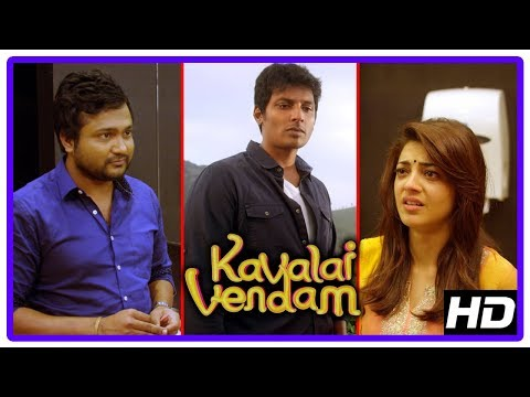 Kavalai Vendam Climax Scene | Jiiva and...