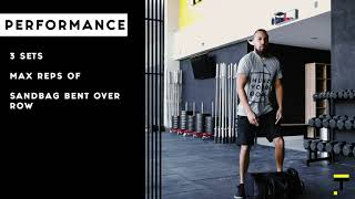 Mottain HOME WORKOUT (Week 3, Day 2)