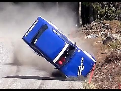 Best Rally Crashes Compilation | Car Cras