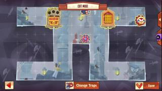 King of Thieves Insane Base Defences by Ash KOT - Base 3 RG Cannon Spawn into saw jump from above