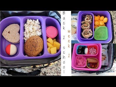 School Lunch Ideas!| Back to School| Week 2