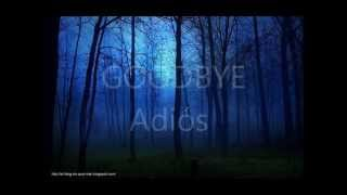 Air Supply Goodbye Subtitulada Español Ingles
