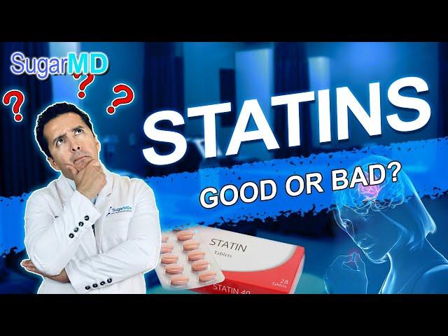 Are Statins or Cholesterol Levels More Dangerous? Doctor explains! SugarMD
