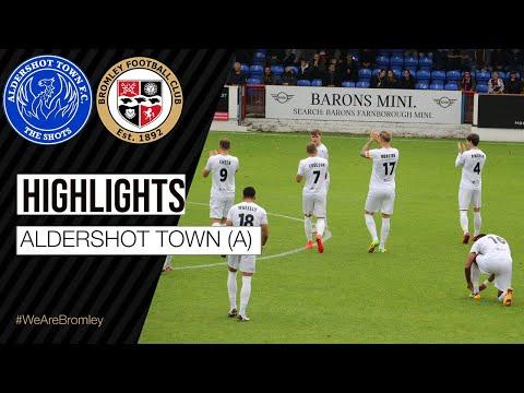 Aldershot Bromley Goals And Highlights