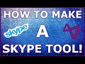 Visual studio 2015 How To Make A Skype Tool Ep 1 How to connect and get username