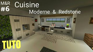 TUTO Minecraft Maison Moderne & Redstone : Cuisine part.6 PS4 (PS3/XBOX360/XBOXONE/PC)