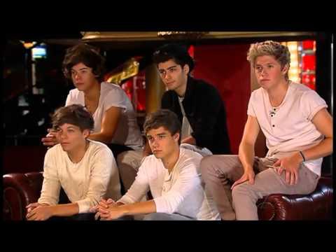 X Factor Judges 2012 One Direction guest me...