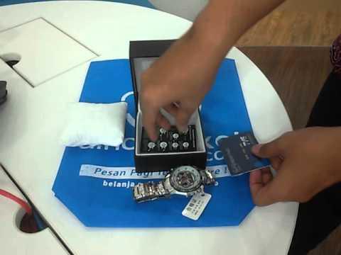 Jam Tangan TVG Ventura LED - Black Dial