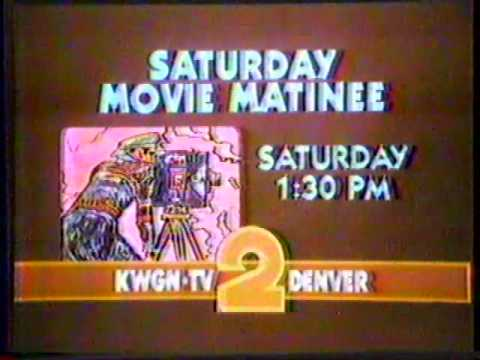 KWGN Saturday Movie Matinee 1980 Commercial Bumper