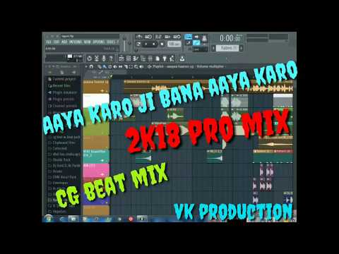 Aaya karo ji Bana Cg beat mix by vinod production