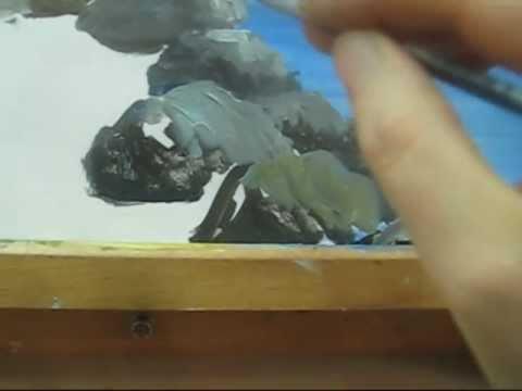 Acrylic Paint Rocks How To