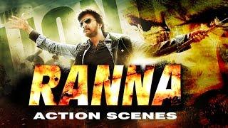 Ranna Hindi Dubbed Full Movie | Sudeep's Super Hit Action Scenes |