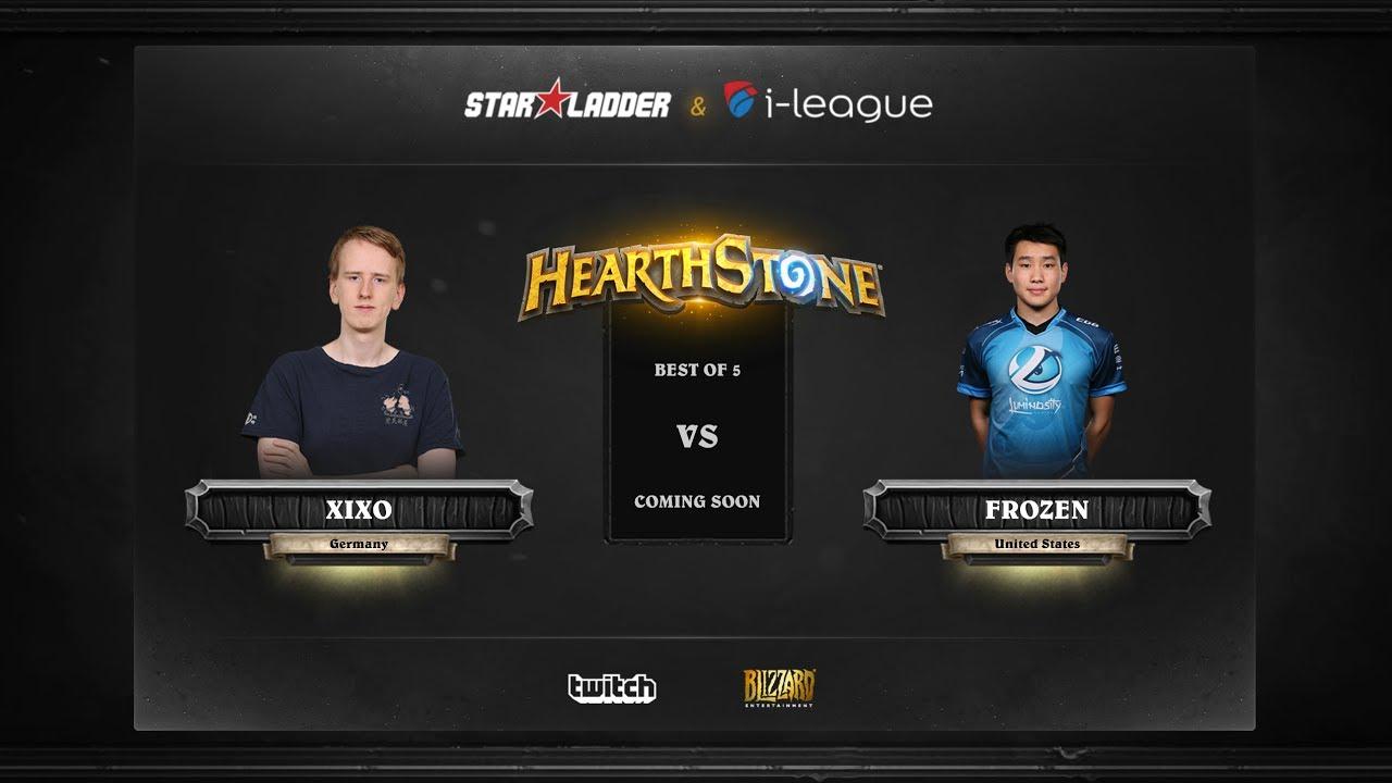 [EN] Xixo vs Frozen | SL i-League Hearthstone StarSeries Season 3 (29.05.2017)