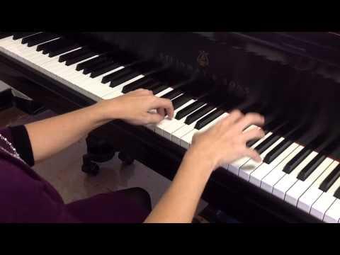 Suzuki Piano - A Short Story (practice tempo)