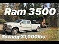 RAM 3500 TOWING 31,000LBS.. GAME CHANGER