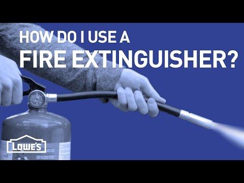 How Do I Use A Fire Extinguisher? | DIY Basics