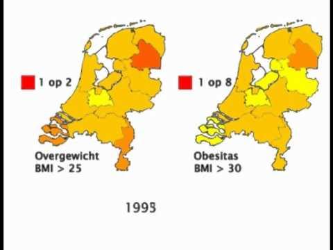 nederland overgewicht