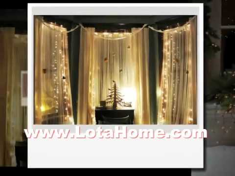 Interior Wall Color Decor Christmas Window Decorating