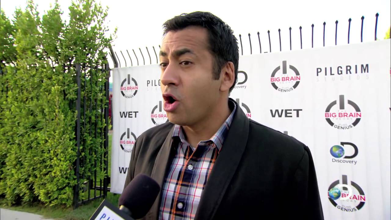 Download The Big Brain Theory: Pure Genius Premiere Party - Kal Penn Interview