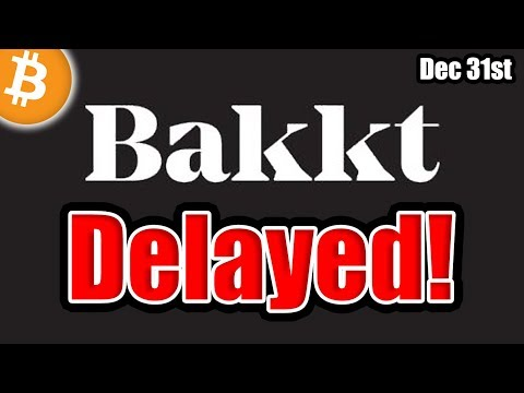 BREAKING: Bakkt Delayed AGAIN! [Bitcoin Update]