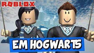 PERDIDOS EM HOGWARTS! - Roblox (Wizardry II)