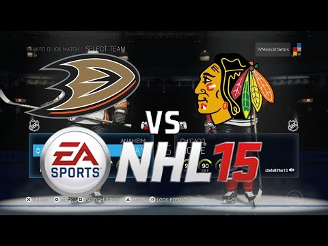 NHL 15 – Online Ranked: Ducks vs. Blackhawks (Live Commentary)
