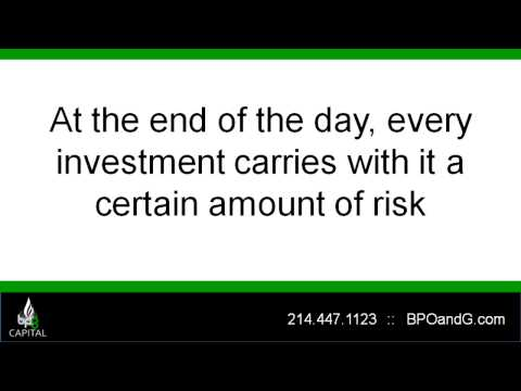 How Safe is Your Oil Investment? - BPG Capital