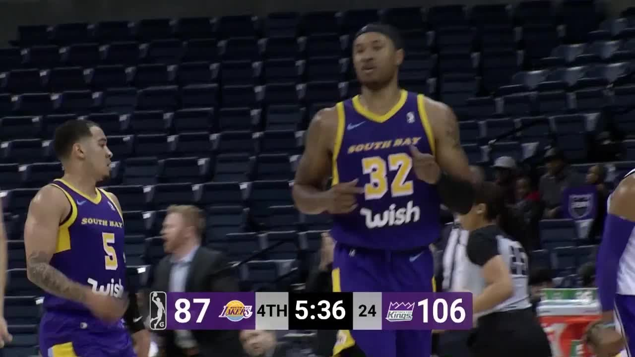 284773ecbe1 Justin Harper with 23 Points vs. Stockton Kings - YouTube