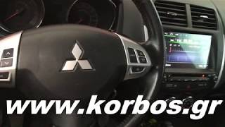 MITSUBISHI ASX ANDROID ΟΘΟΝΗ BIZZAR M026 (Μοd.2010-2014) www.korbos.gr