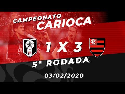 Flamengo x Resende Ao Vivo - Maracanã