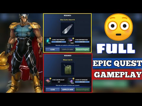 GOTG Epic Quest Full Game play Part 1,2,3,4 Full details disclosed MFF