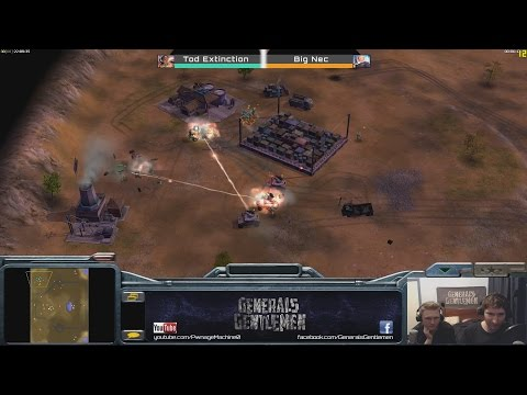 Wacky Zero Hour Tomfoolery: Tod Extinction(Infantry) vs Big Nec(Super Weapon)
