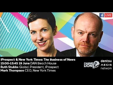 #DANatCannes2018 - iProspect & The New York Times: Truth in an Era of Deception